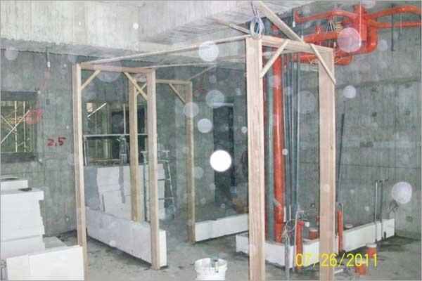 白磚+隔間工程
