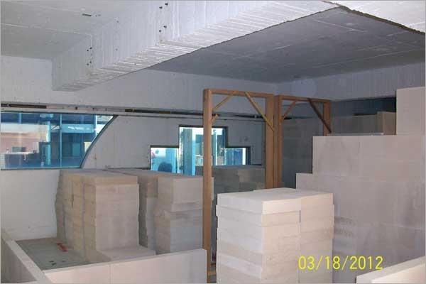 白磚施工現場