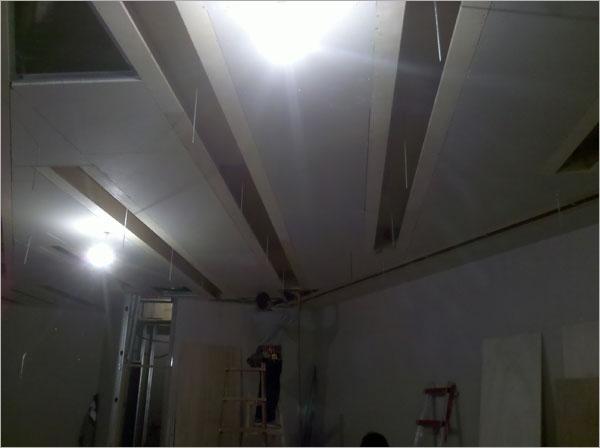 石膏造型暗架天花板