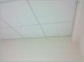 素面明架天花板