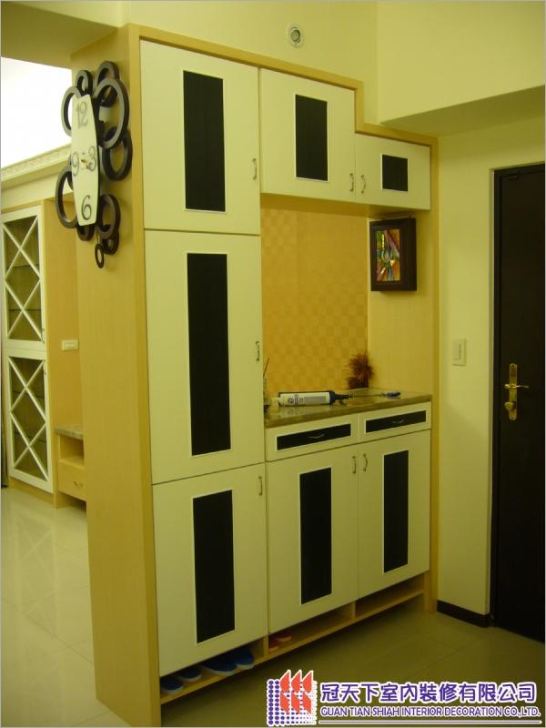 餐厅置物柜装潢设计施工