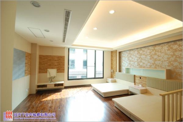 花板+木地板施工