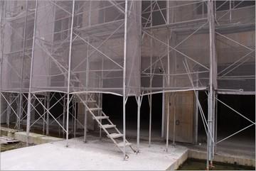 工地鋼管鷹架階梯
