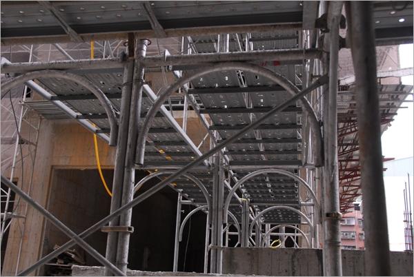 大樓工地施工支撐架