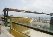 油壓臂式大樓吊掛設備