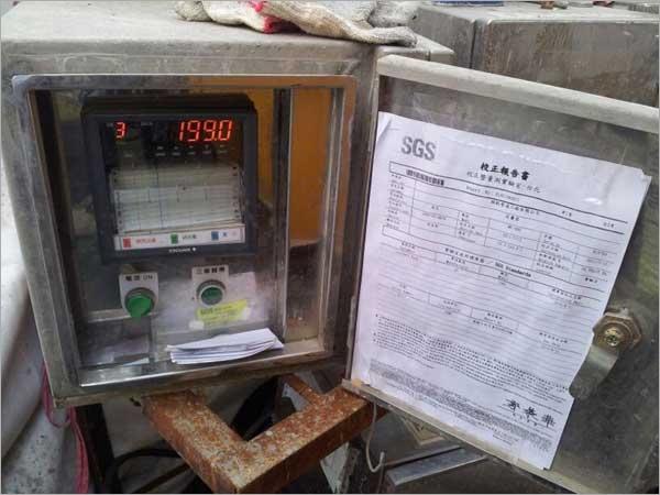 灌漿壓力流量紀錄器