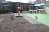 屋頂防水毯施作