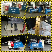 微管溝工法**強力推薦商品**.TC35系列 昇降採油壓系統或重力負荷螺桿昇降-自走/半自走兩用道路切割機