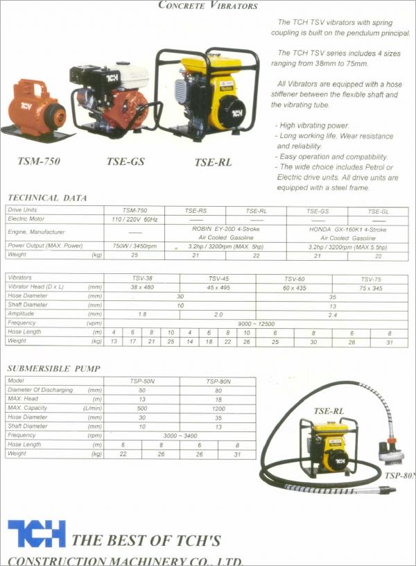 TCH TOKYOKU TSV38/TSV45/ TSV60/ TSV75 錐振式振動