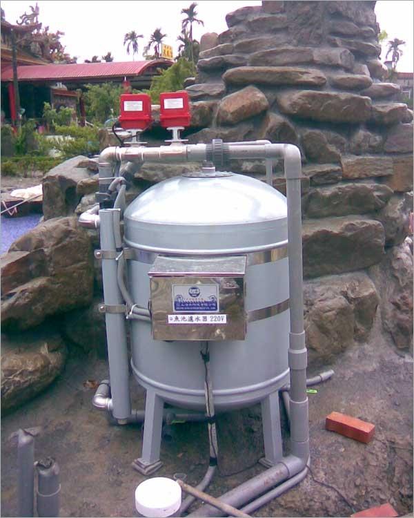 全自動魚池循環殺菌機-10T