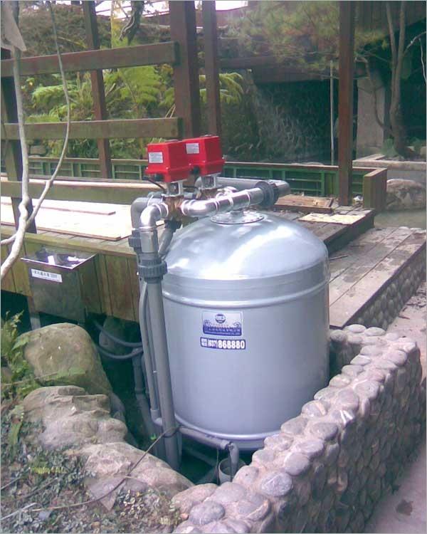 全自動魚池濾水器-10T2