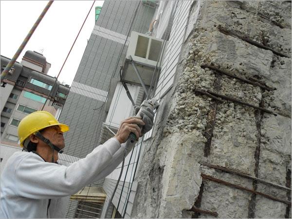 結構補強磁磚修補