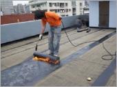 屋頂熱熔式防水毯防水工程