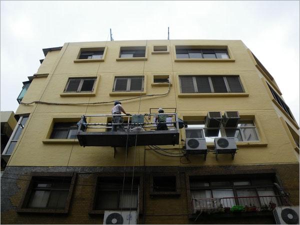 高空作業外牆防水工程