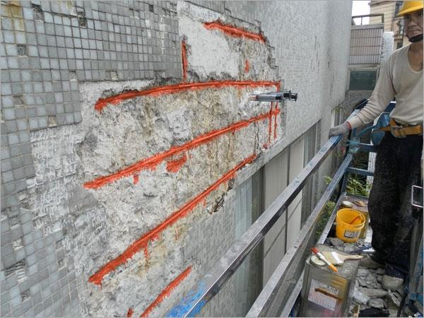 鋼筋暴露混凝土結構補強工程
