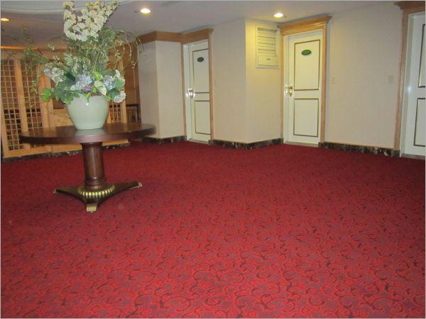 飯店大廳地毯