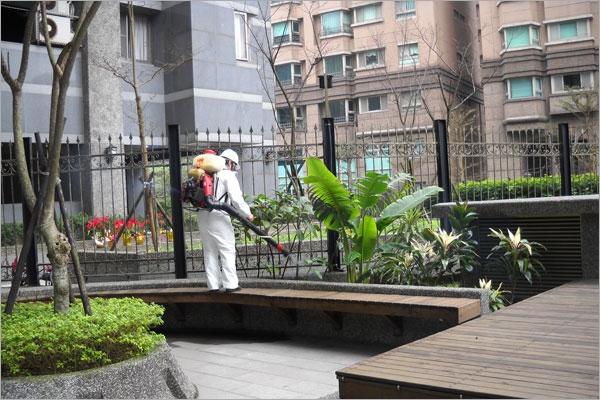 大樓社區環境消毒清潔