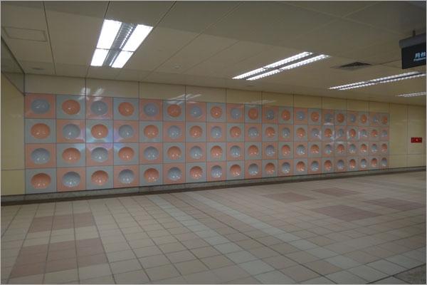 圓凹造型藝術牆板