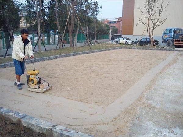 界石鋪設工程