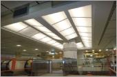 格子樑造型天花板