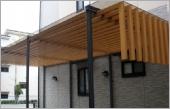 景觀木紋鋁格柵