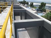 FRP廢水池施工