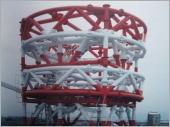 台北縣政府減震系統微波鐵塔