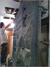 石皮造型牆施工