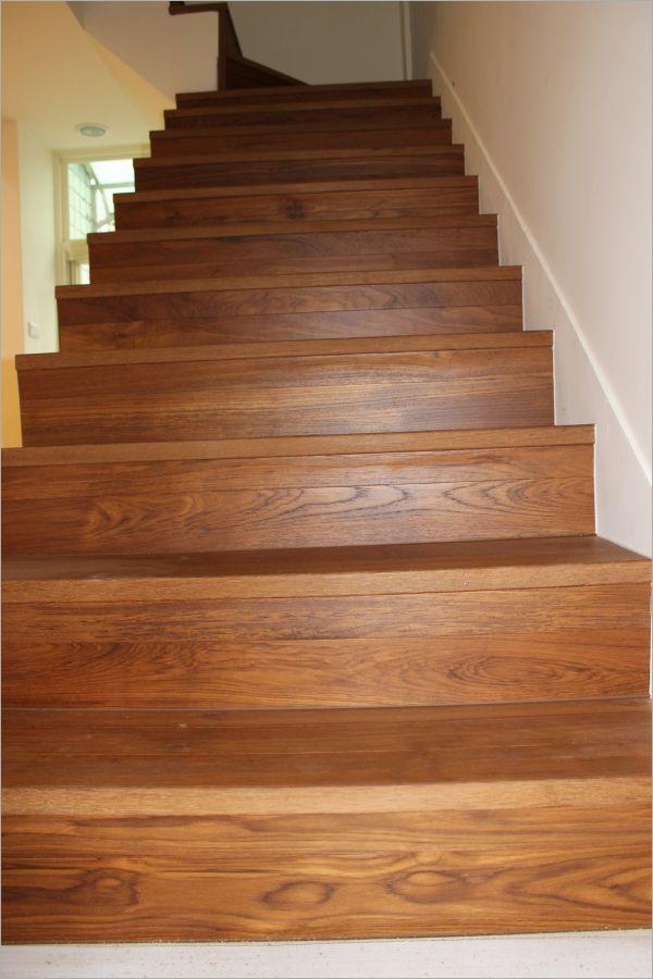 緬甸柚木實木樓梯