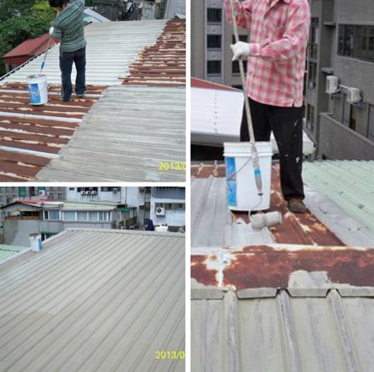 鐵皮屋防水施工