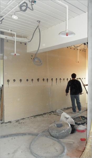 灌漿牆施工