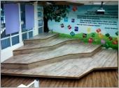 情境教學教室 造型地板