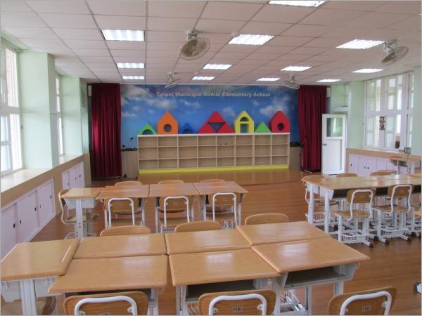 情境教學教室