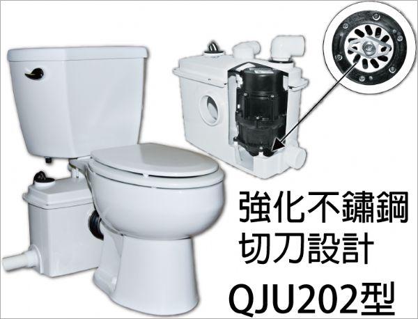 可安装於马桶后方或隐藏於墙后(需延长后排管长度)