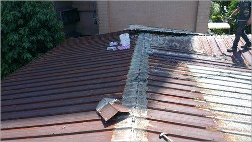 鐵皮屋蝕銹施工處理/鐵皮屋修補施工