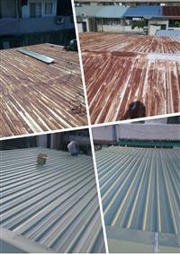 烤漆鋼板更換-33坪