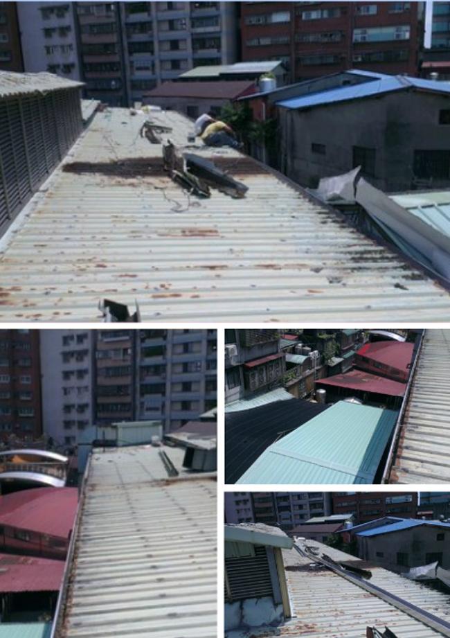 屋頂水槽更換施工