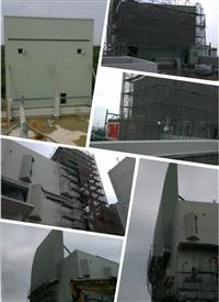 造型壁板施工-200坪