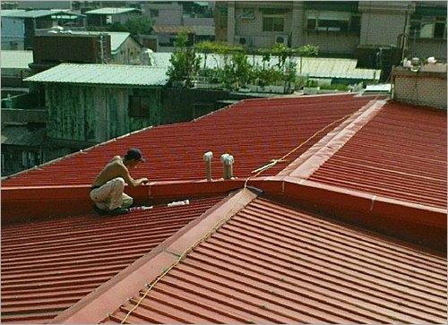 舊鐵皮屋更換屋頂鐵皮