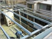 鐵皮屋老舊屋頂翻修增高