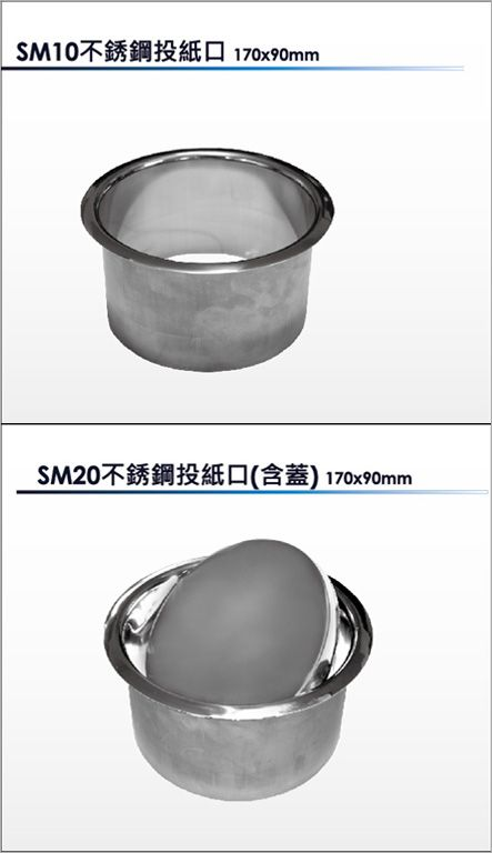 SM10/SM20不鏽鋼投紙口