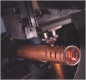 黑鐵圓管雷射切割