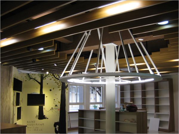 木紋鋁障板