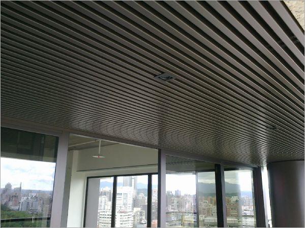 鋁合金條狀天花板
