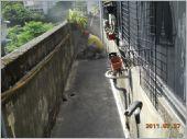 地面施作黑膠防水 (2)
