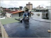屋頂施作黑膠防水及防水毯 (3)