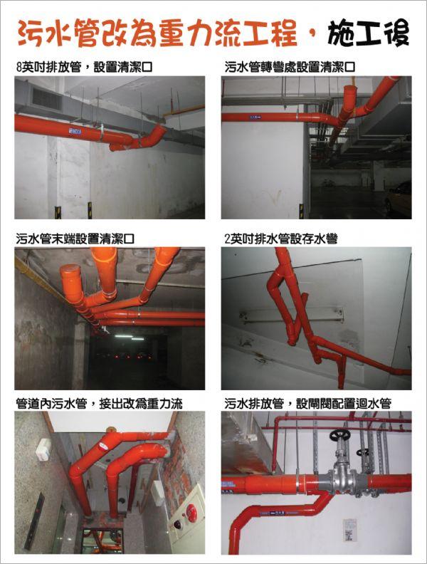 污水管改為重力流工程