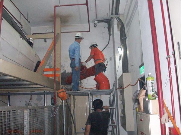 污廢水管改為重力流工程