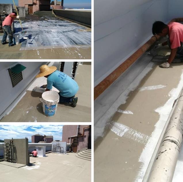 屋頂防水施工