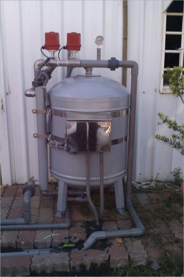 上清牌10T魚池過濾器